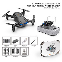 FEICHAO KY906 Mini Folding Drone 4K Dual-lens Intelligent Fixed Height Remote Control Aircraft for Aerial Photography