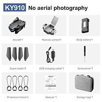 FEICHAO KY910 Mini Drone Remote Control Aircraft 4k HD Aerial Photography Dual Camera Quadcopter