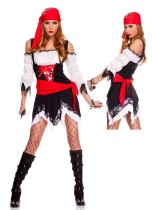 HLX8822 lady Pirate Vixen Girl Costum