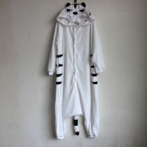 white tiger animal cosplay costume
