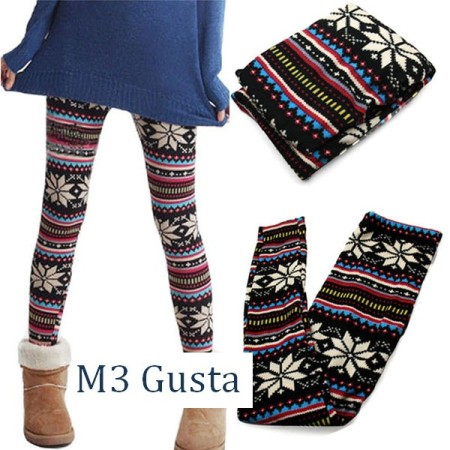 Y106-3 snowflake leggings