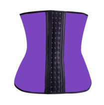 8112 PURLE latex waist cincher wholesale cheap