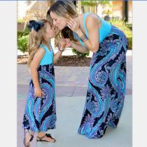 Mother and Daughter Clothes Family Matching Outfits Parent-child dress Baby Girl