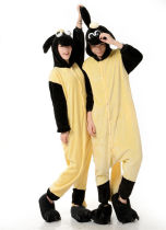 HOT Flannel Unisex Adult Pajamas Animal Cosplay Costume sleepwear Onesie Sheep