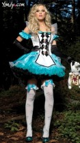 077 alice in wonderland costume