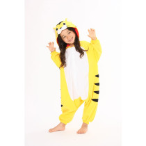 K-005 yellow tiger onesies 85-125