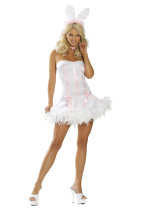 8210 New White Bunny Costumes 5L