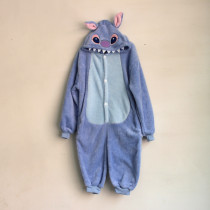K-008 blue stitch onesies 85-125