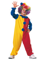 6845 clown kids onesies