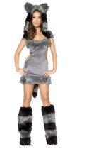 011 sexy women animal costume