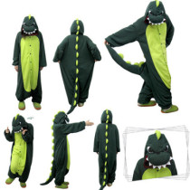green dinosaur one size