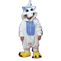 K-022 blue unicorn onesie 85-125