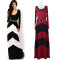 Woman summer 2014 Celeb Style Long Sleeve Slim Maxi Dress With Belt Beach Long Dress 3 Colors SV001602