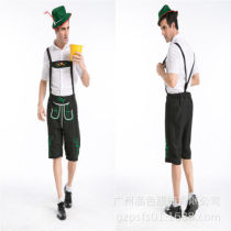 Mens German Beer Festival Fancy Dress Bavarian Adults Costume + Hat