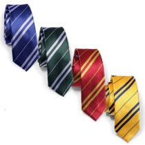 10012 Harry Potter Tie Gryffindor Slytherin Ravenclaw Hufflepuff