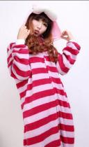 S-012 New Unisex Animal Onesie Cheshire Cat Costume Kigurumi Pyjamas Large