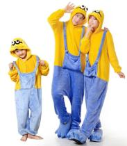Minions Unisex Adult Pajamas Anime Cosplay Costume Onesie Sleepwear