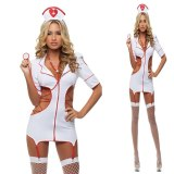 2019 Women Sexy Nurse Costume Hot Erotic Underwear Role Play Games Women Erotic Lingerie Female Sexy Underwear lenceria Uniform