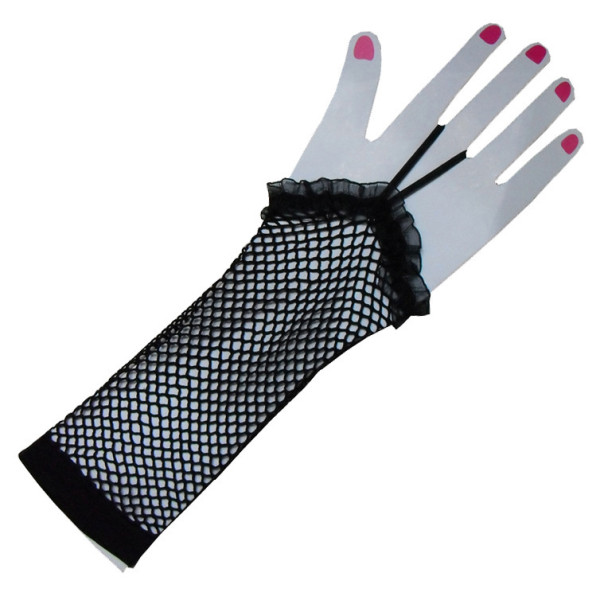 G2020002  black mesh gloves