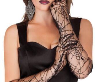 G2020003  black spider gloves