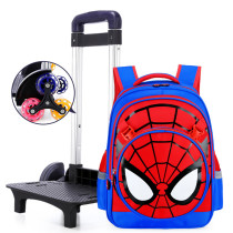 Kids Rolling Backpack with 6 Wheels