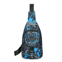 Oxford Fabric Sling Backpack for Men