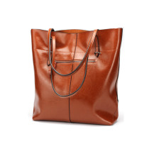 Stylish Ladies' Leather Tote Handbags