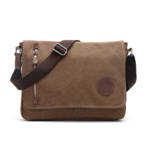 Canvas Laptop Messenger Bag for Men