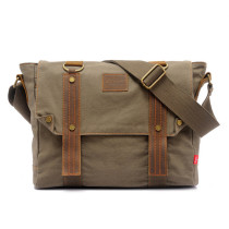 Vintage Laptop Messenger Bag for Men