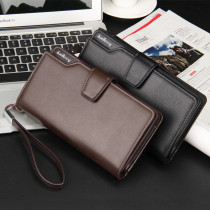 Mens Leather Wallet with Zipper