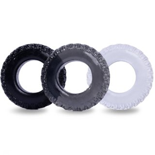 Cob 3-Pack Male Enhancement Cock Ring Set