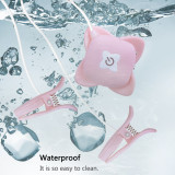 Cob Nipple Vibrator with Wireless Remote Control, Vibrating Nipple Clamps for Women