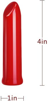 Cob Bullet Vibrator G Spot Vibrator Clit Massager Nipple Stimulator with 10 Speeds Strong Vibration Massager Adult Sex Toy for Couple (Red)