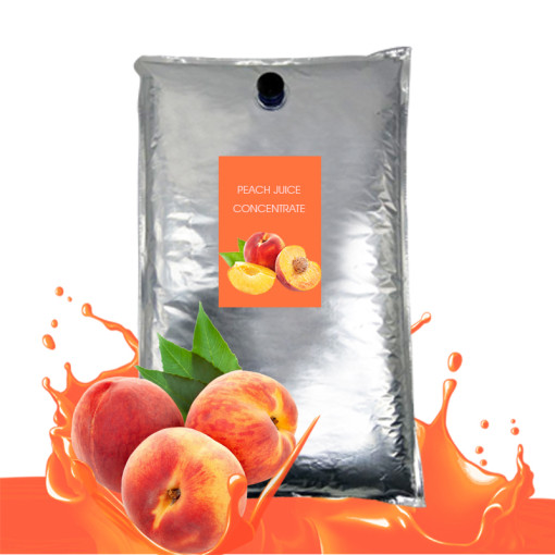 Peach juice concentrate