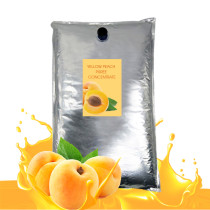 Yellow peach juice concentrate