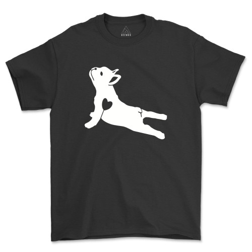 Dog Yoga Pose French Bulldog Shirt Funny Dog Lover T-Shirt