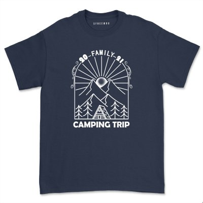 Family Camping 2021 T shirt Unisex Comfy Adventure Camper Tees Casual Matching Camp tshirt Tops