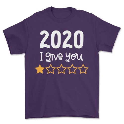 2020 I Give You 1 Star T Shirt Quarantine Gift Tee
