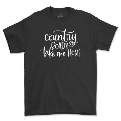 Country Roads Take Me Home Tee Shirt July 4th T-Shirts