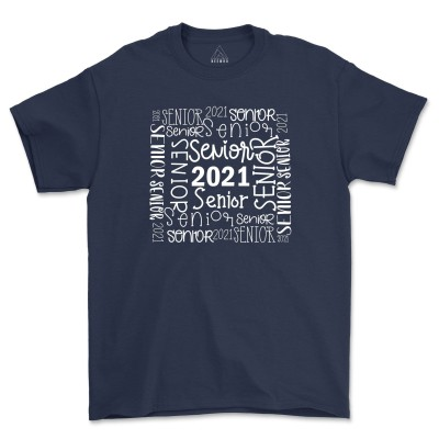 Senior 2021 Shirts Social Distancing Class Of 2021 Graduation Shirt Senior Picture Tee