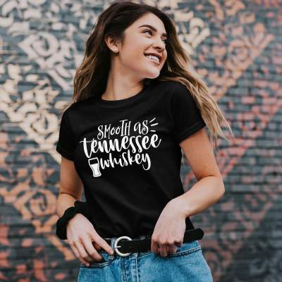 Couples shirts Smooth As Tennessee Whiskey T-Shirt