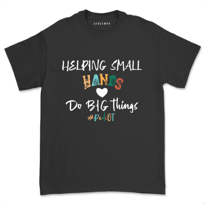 Occupational Therapy OT Assistant Therapist Gift T-Shirt Short Sleeve Counselor Teacher Tee Tops
