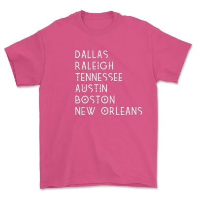 Dallas Raleigh Tennessee Shirt Austin Boston New Orleans Trey Lewis T-Shirt DDID