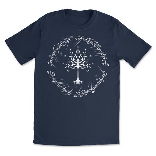White Tree of Gondor Unisex Short Sleeve T-Shirt