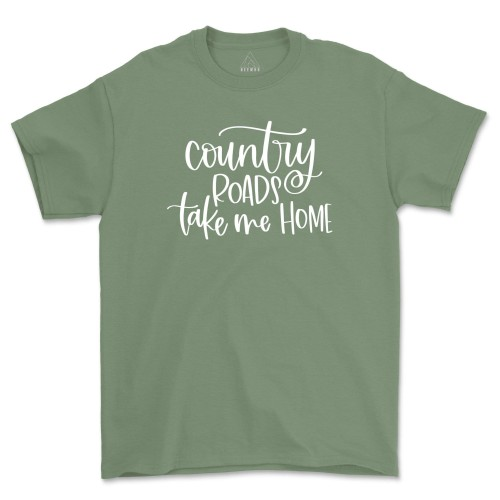 Country Roads Take Me Home Tee Shirt July 4th T-Shirts