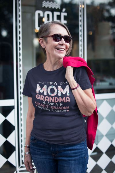 Mom And Grandma Shirt Mother's Day Shirt for Her Mom Mimi Gigi Aunt Shirt Grandma Shirt