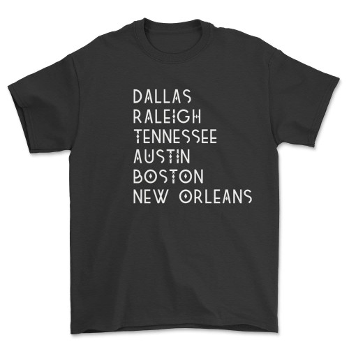 Dallas Raleigh Tennessee Shirt Austin Boston New Orleans Trey Lewis T-Shirt DDID