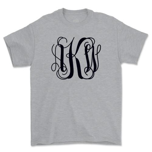 Monogrammed Bridesmaid Gift Shirt Monogram Gift Idea Tee