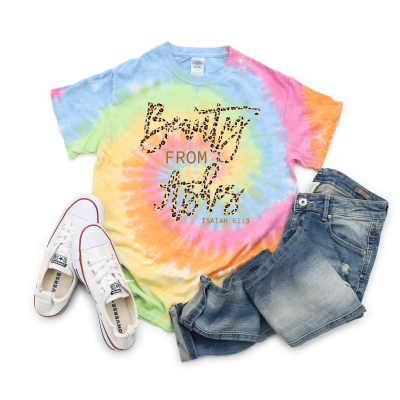 Beauty From Ashes Isaiah 61:3 Christian Inspirational T Shirts Bible Verse Tee