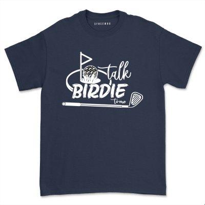 Talk Birdie To Me Shirt Women Golf Sport Lover t Shirt Gift Funny Golfing Tee Comfy Golfer T-shirt Tops